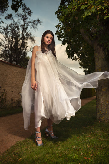 MISUMI SILK ORGANZA DRESS