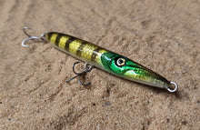 Load image into Gallery viewer, KZ-BR110 Gold Perch Handmade Topwater surface lure 11g for Spinning