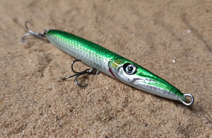 KZ-BR110 Garfish Handmade saltwater fishing lures 11g floating