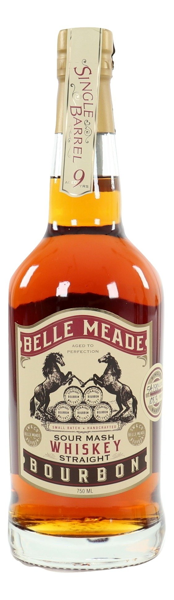Belle Meade Single Barrel Bourbon 9 Year Old