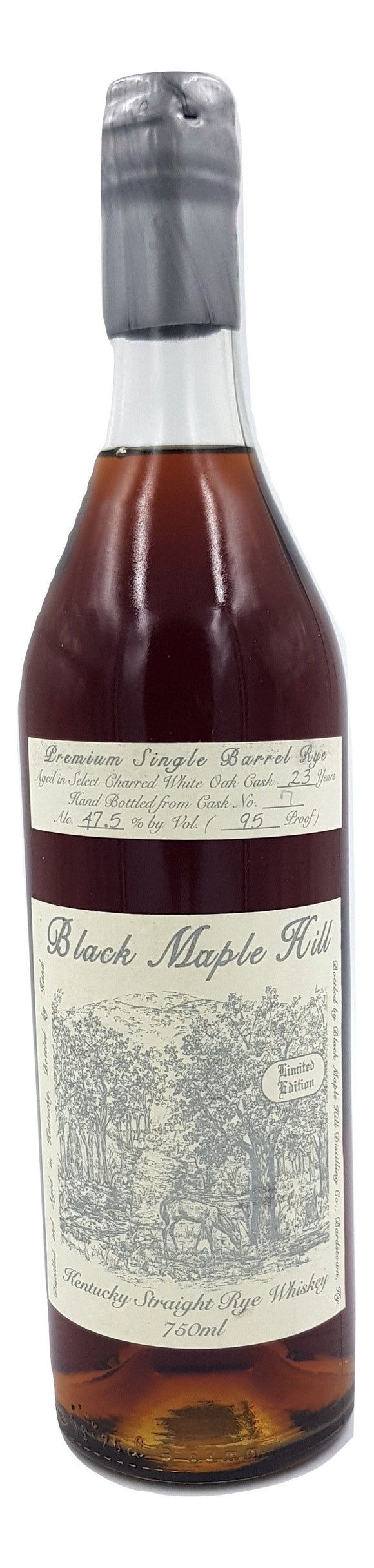 Black Maple Hill 23 Year Old Single Barrel Rye - Cask 1