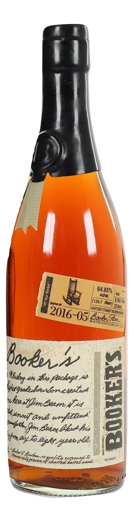 "Booker's Bourbon Batch 2016-5 ""Off Your Rocker"""