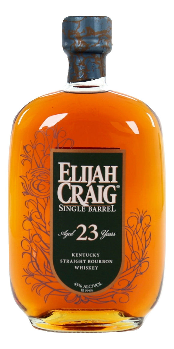 Elijah Craig 23 Year Old Single Barrel 1990 - 2013