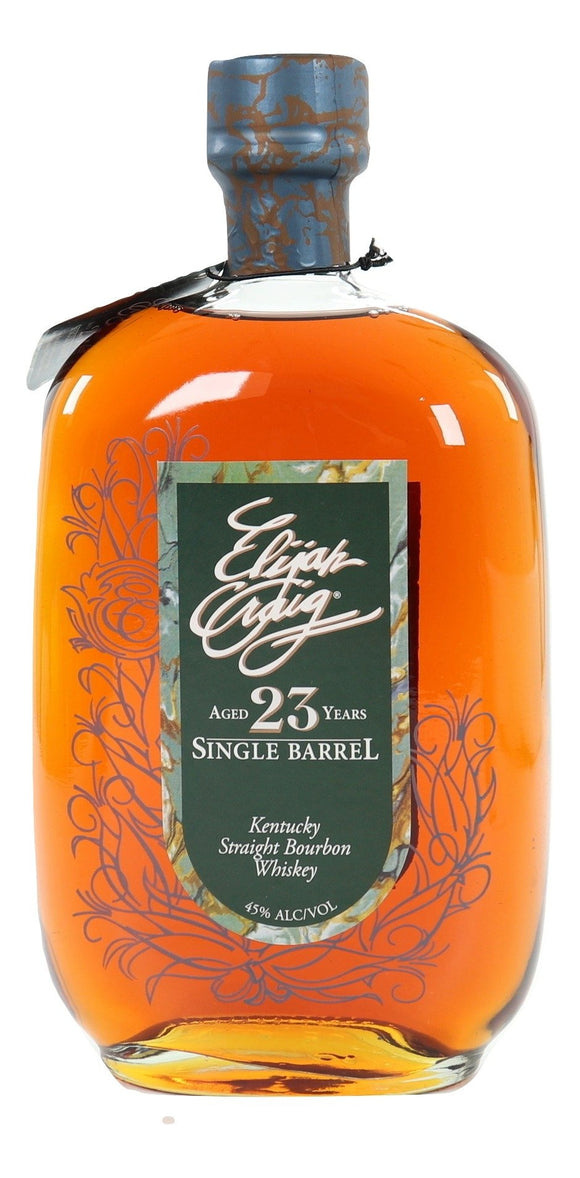 Elijah Craig 23 Year Old Single Barrel 1989 - 2012