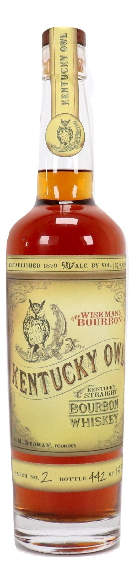 Kentucky Owl Bourbon Batch 2 For Sale - NativeSpiritsOnline