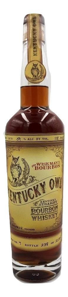 Kentucky Owl Bourbon Batch 7 For Sale - NativeSpiritsOnline