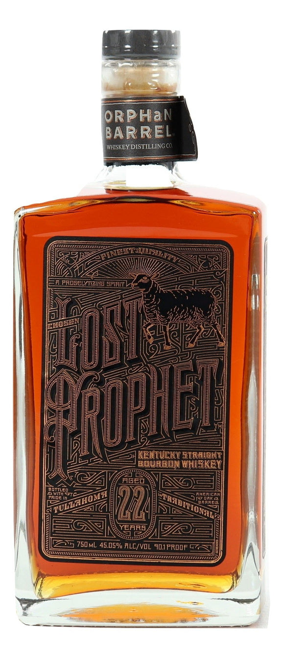 Lost Prophet 22 Year Old Bourbon For Sale - NativeSpiritsOnline