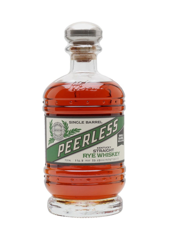 Peerless Single Barrel Rye 4 Year Old