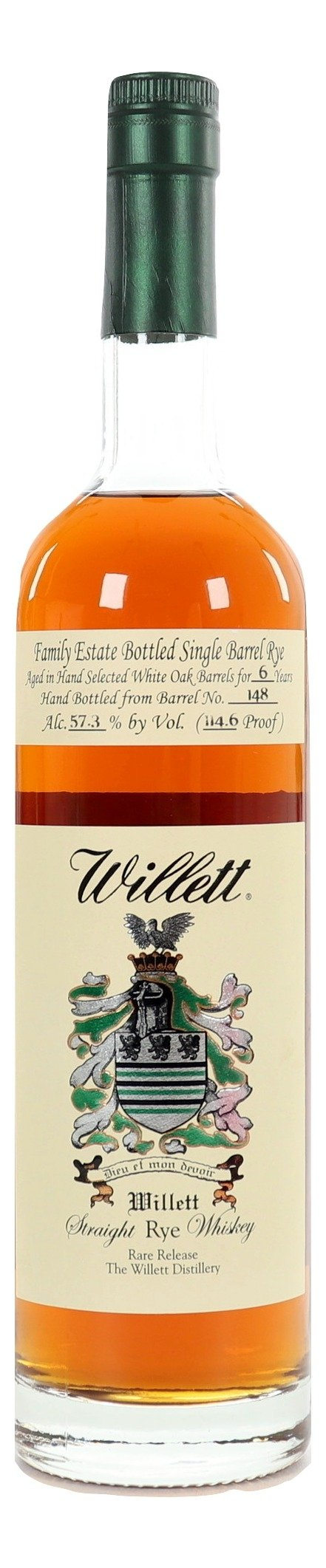 Willett 6 Year Old Family Estate Rye Barrel 148 For Sale - NativeSpiritsOnline