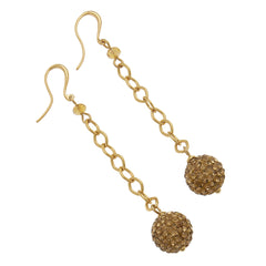 Shamballa Crystal Earrings