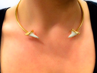 Shark Tooth Collar