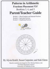 Fractions 3, 4, and 5 Placement PDF