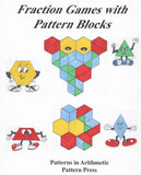 Fraction Games with Pattern Blocks