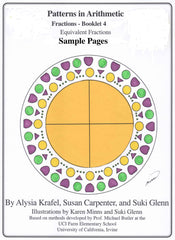 Fractions:  Booklet 4 Sample Pages