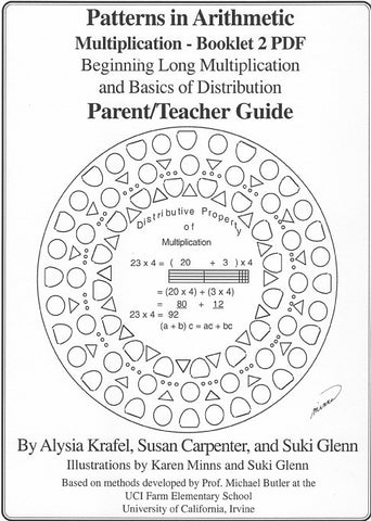 Multiplication: Booklet 1 - Parent/Teacher Guide - Pattern ...