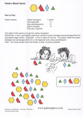 Pattern Block Games