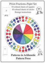 Prism Fractions Printable Paper Set