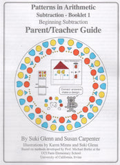 Subtraction: Booklet 1 - Parent/Teacher Guide