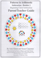 Subtraction: Booklet 2 - Parent/Teacher Guide