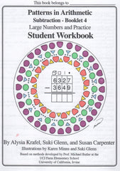 Subtraction 4 - Student Workbook