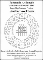 Subtraction 4 PDF - Student & Teacher