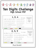 Ten Digits/High School PDF