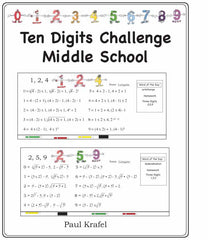 Ten Digits/Middle School