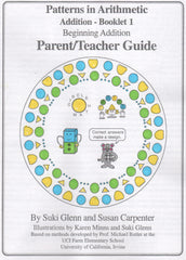 Addition: Booklet 1 - Parent/Teacher Guide