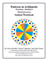 Fractions:  Booklet 6 - Student Workbook