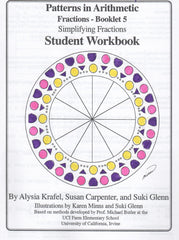 Fractions:  Booklet 5 - Student Workbook