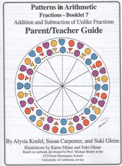 Fractions:  Booklet 7 - Parent/Teacher Guide