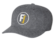 Fitness is my Fashion Fitted Hat - Dark Heather Gray
