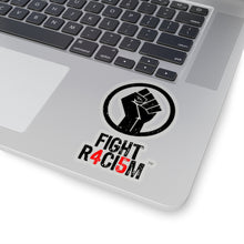 Load image into Gallery viewer, FIGHT R4CI5M™ Black Sticker