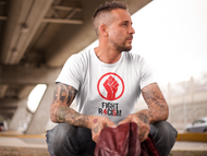 FIGHT R4CI5M™ Red Fist Tee