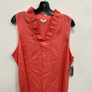 Primary Photo - BRAND: CROWN AND IVY STYLE: TOP SLEEVELESS COLOR: CORAL SIZE: XXL SKU: 298-29859-4191