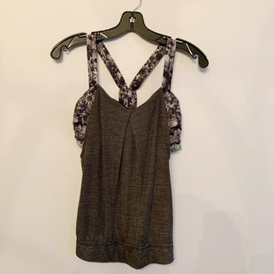 Primary Photo - BRAND: LULULEMON STYLE: ATHLETIC TANK TOP COLOR: GREY SIZE: 6 SKU: 298-29814-72300
