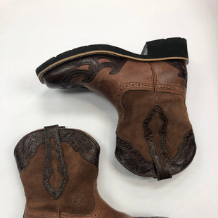 Primary Photo - BRAND: ARIAT STYLE: BOOTS ANKLE COLOR: BROWN SIZE: 6 SKU: 298-29859-4033