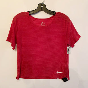 Primary Photo - BRAND: NIKE APPAREL STYLE: ATHLETIC TOP SHORT SLEEVE COLOR: MAROON SIZE: M SKU: 298-29811-50657