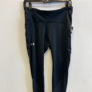 Primary Photo - BRAND: UNDER ARMOUR STYLE: ATHLETIC CAPRIS COLOR: BLACK SIZE: L SKU: 298-29859-5976