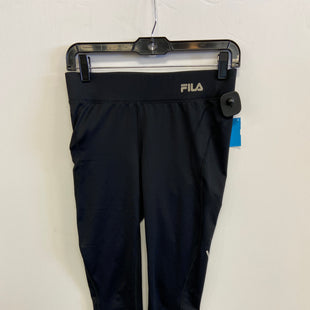 Primary Photo - BRAND: FILA STYLE: ATHLETIC CAPRIS COLOR: BLACK SIZE: XS SKU: 298-29859-5603