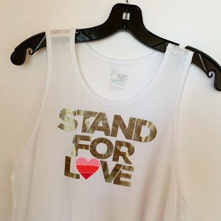 Primary Photo - BRAND: OLD NAVY STYLE: TANK TOP COLOR: WHITE SIZE: L SKU: 298-29814-69606