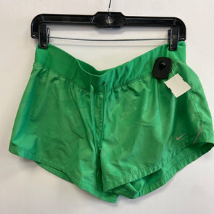 Primary Photo - BRAND: NIKE APPAREL STYLE: ATHLETIC SHORTS COLOR: GREEN SIZE: L SKU: 298-29814-75385