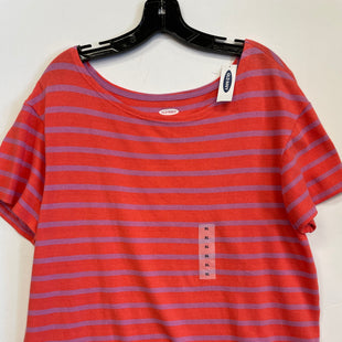 Primary Photo - BRAND: OLD NAVY STYLE: TOP SHORT SLEEVE COLOR: PINK SIZE: XL SKU: 298-29814-63384