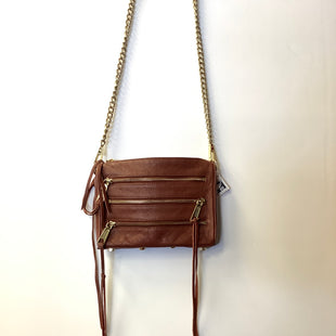 Primary Photo - BRAND: REBECCA MINKOFF STYLE: HANDBAG COLOR: BROWN SIZE: SMALL SKU: 298-29835-19254