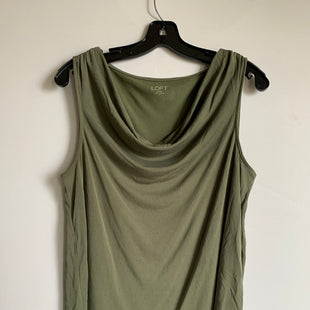 Primary Photo - BRAND: LOFT STYLE: TOP SLEEVELESS COLOR: GREEN SIZE: L SKU: 298-29865-1021