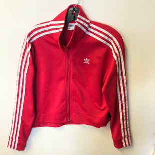 Primary Photo - BRAND: ADIDAS STYLE: ATHLETIC JACKET COLOR: PINK SIZE: S SKU: 298-29865-1091