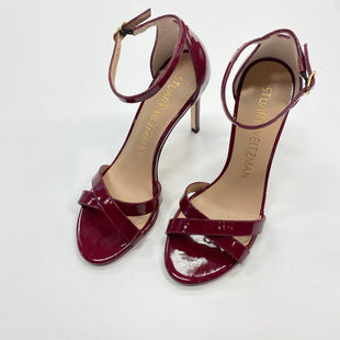 Primary Photo - BRAND: STUART WEITZMAN STYLE: SHOES HIGH HEEL COLOR: MAROON SIZE: 7.5 SKU: 298-29850-3101