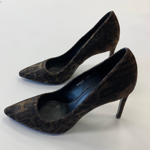 Primary Photo - BRAND: DONALD J PILNER STYLE: SHOES HIGH HEEL COLOR: BROWN SIZE: 8.5 SKU: 298-29859-112