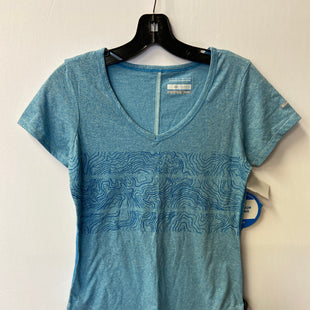 Primary Photo - BRAND: COLUMBIA STYLE: ATHLETIC TOP SHORT SLEEVE COLOR: BLUE SIZE: XS SKU: 298-29813-35573
