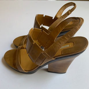 Primary Photo - BRAND: MAX STUDIO STYLE: SHOES HIGH HEEL COLOR: TAN SIZE: 8 SKU: 298-29835-20198